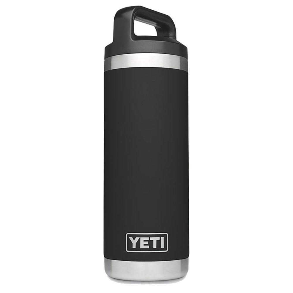 YETI 18 oz. Rambler Bottle - BLACK/YRAMB18BK