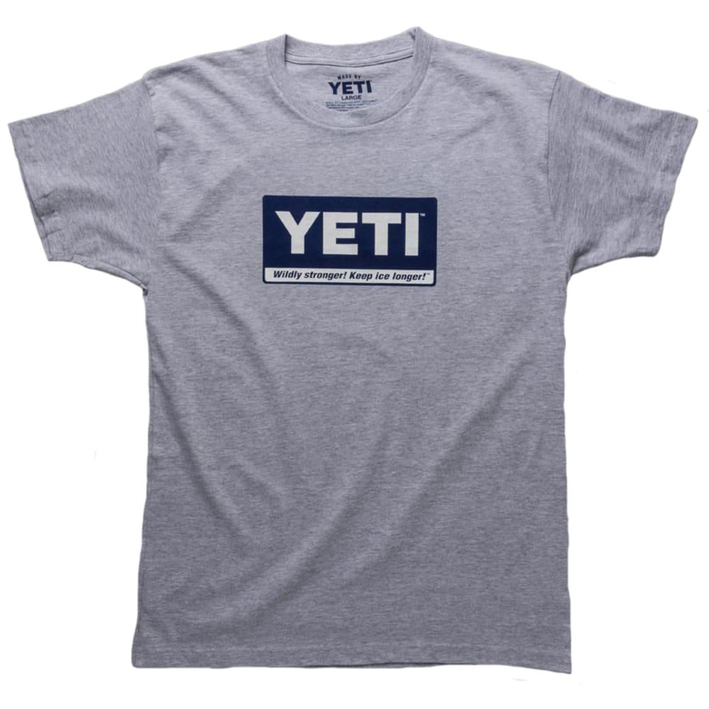 YETI Billboard Logo Graphic Tee - GREY/YTSBBG