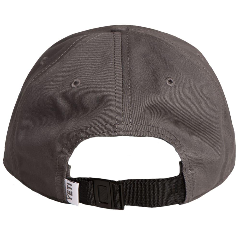 YETI Low Profile Hat - GUNMETAL GRAY