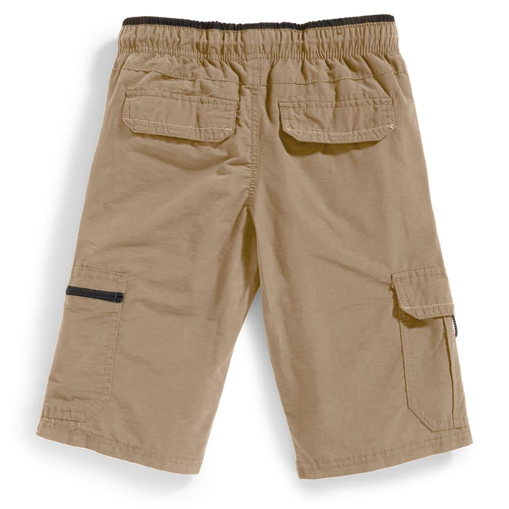 OCEAN CURRENT Boys' Runner Bungee Waist Shorts - KHAKI