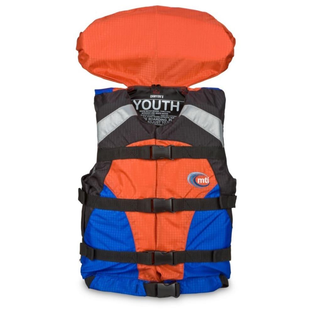 MTI Canyon V Youth PFD - BLUE/ORANGE