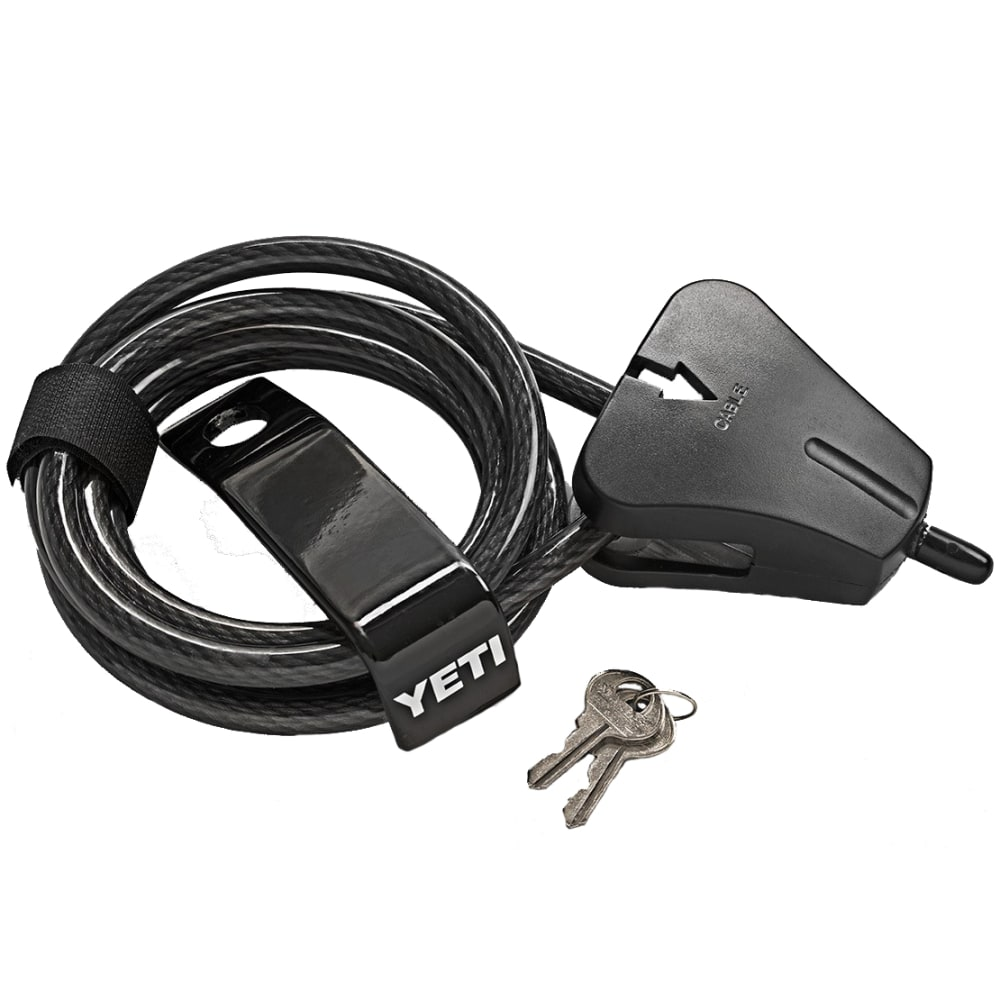 YETI Security Cable Lock and Bracket - BLACK