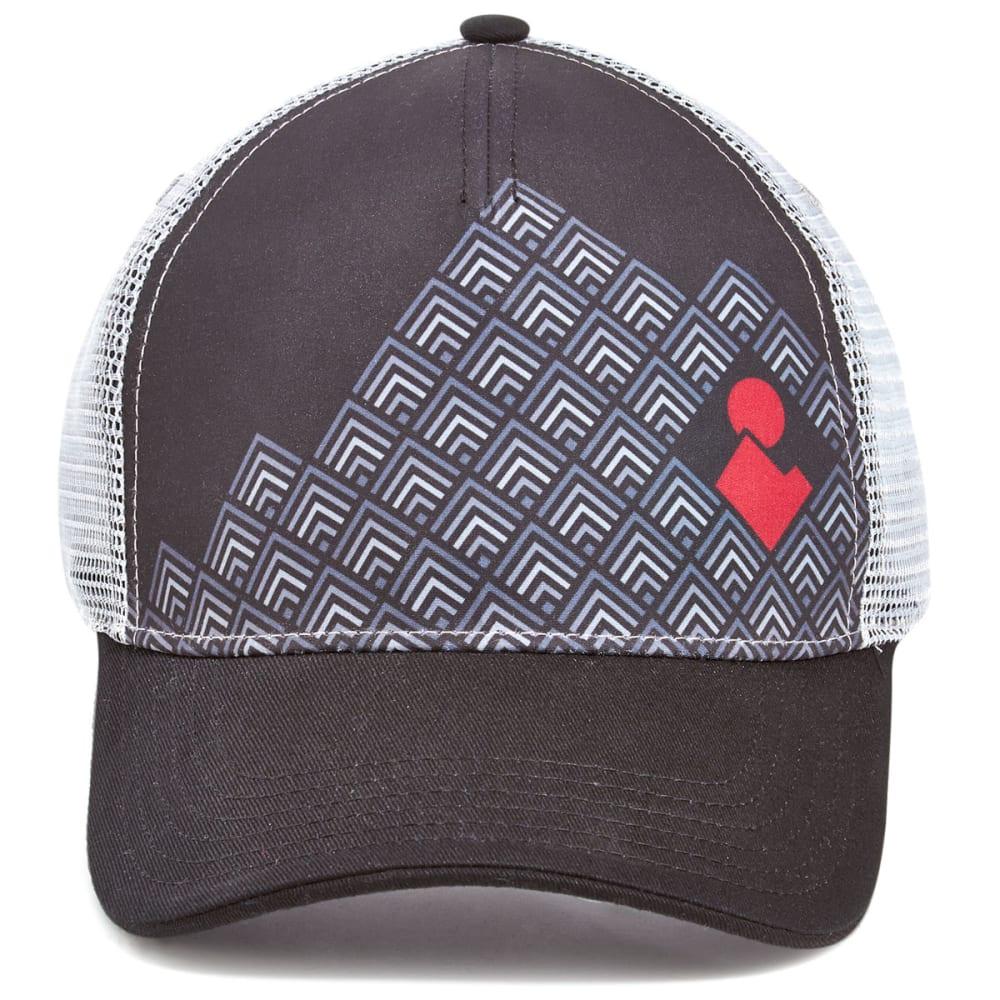 EMS® Block Logo Trucker Hat - BLACK