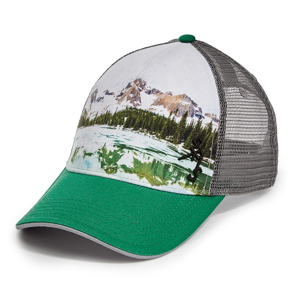 EMS Mirror Lake Trucker Hat - GREEN