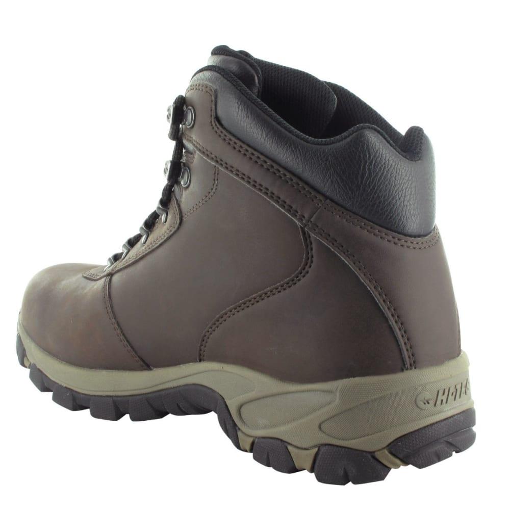 HI-TEC Men's Altitude V Waterproof Boots, Wide - DK CHOC/TAUPE/BLK