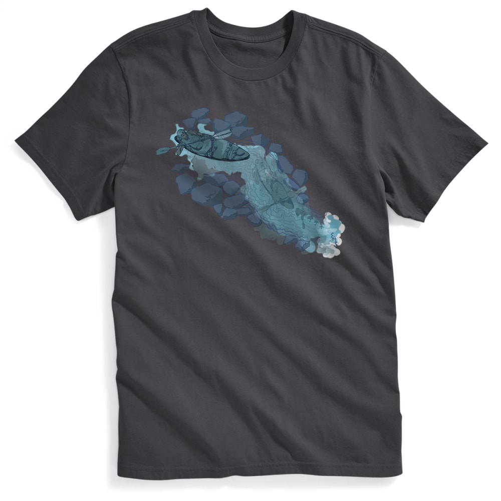 EMS Men's Cascade Graphic Tee - FORGED IRON
