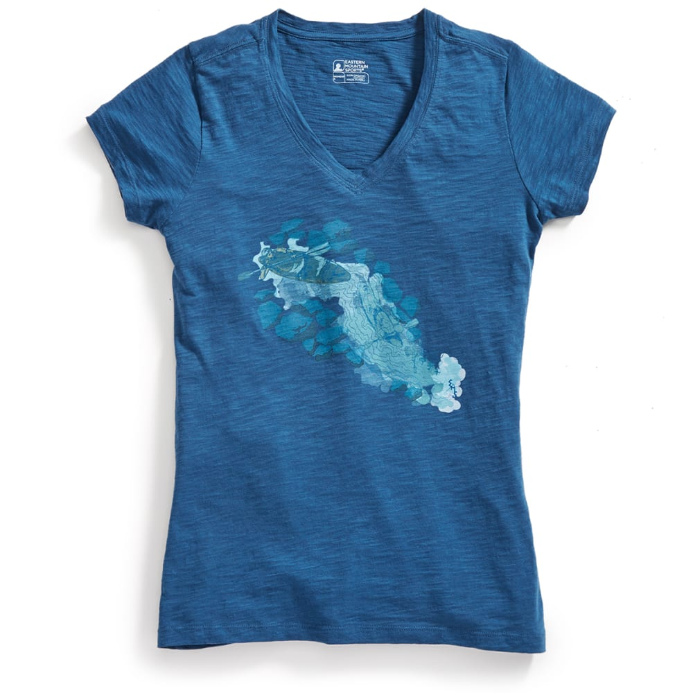 EMS Women's Cascade Graphic Tee - BLUE WING TEAL