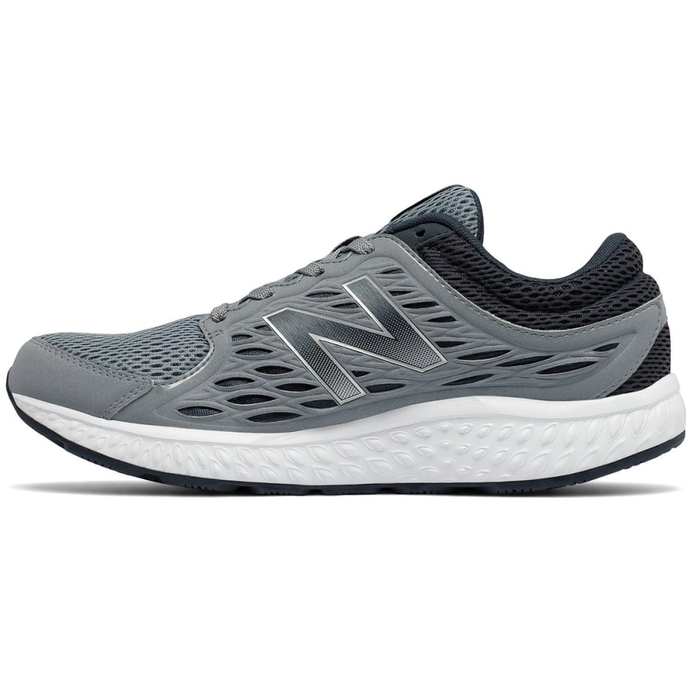NEW BALANCE Men's 420 Runner Running Shoes, Silver, Wide - SILVER