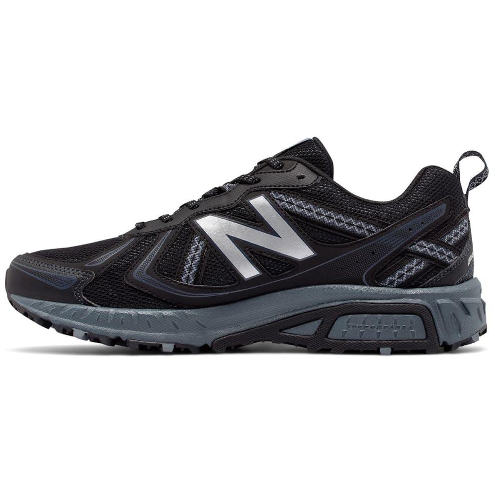 NEW BALANCE Men's 410v5 Trail Running Shoes, Black/Thunder - BLACK - MED