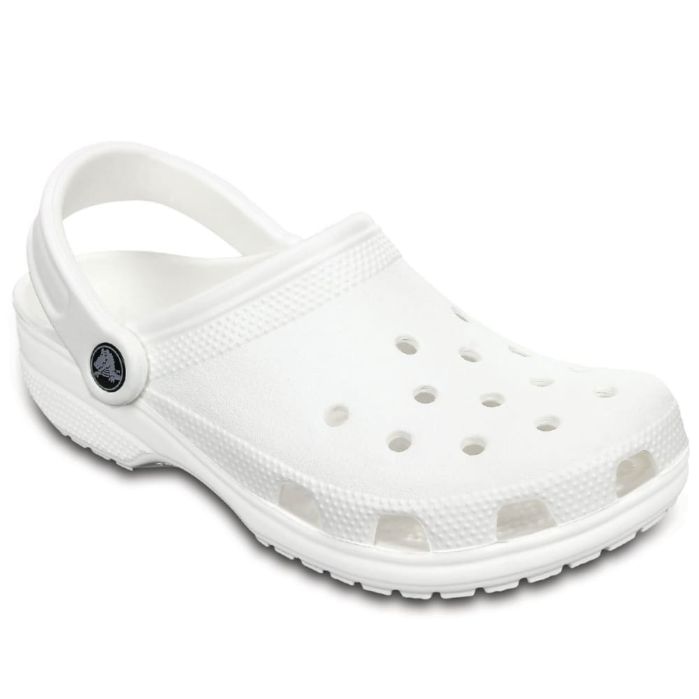 CROCS Adult Classic Clogs, White - Eastern Mountain Sports