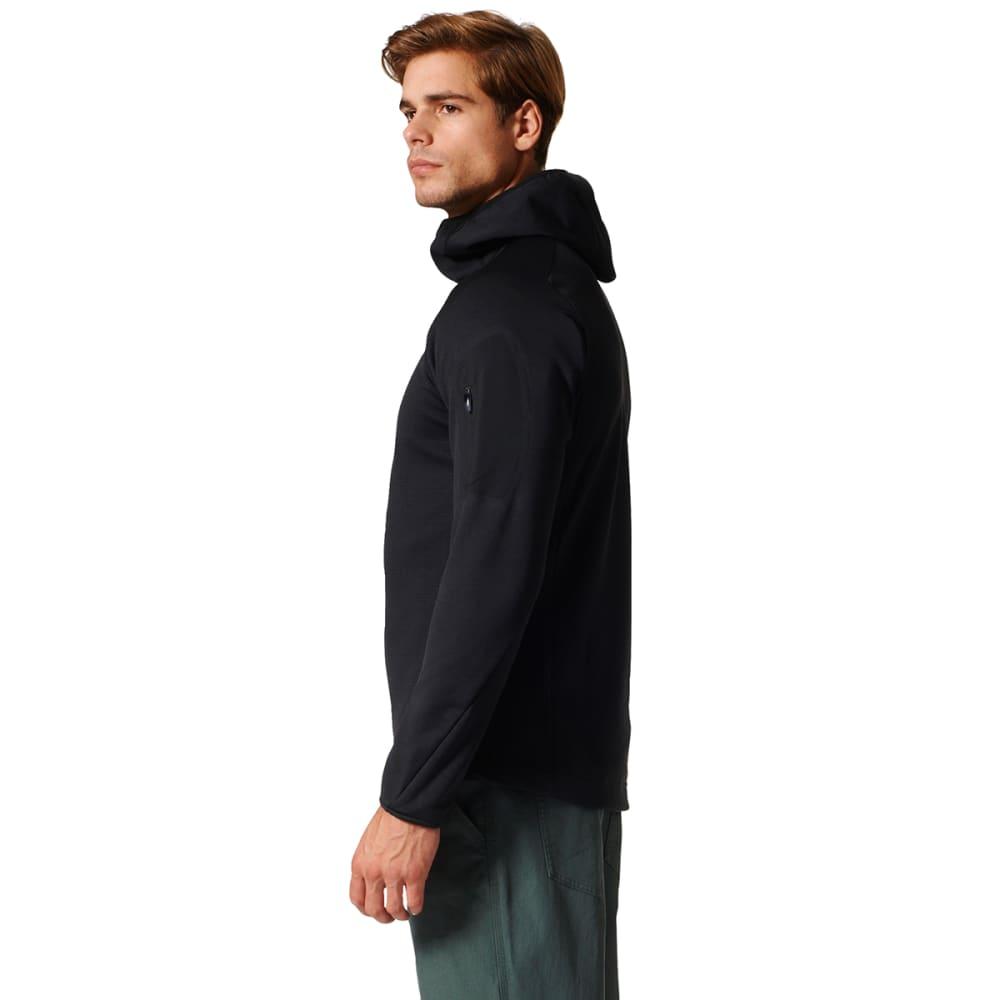 ADIDAS Men's Terrex Stockhorn Fleece Hooded Jacket - BLACK