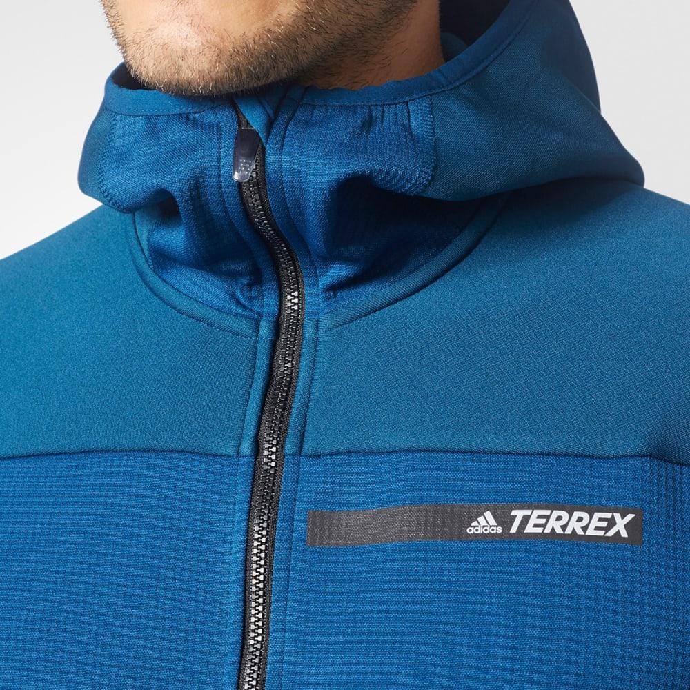 ADIDAS Men's Terrex Stockhorn Fleece Hooded Jacket - BLUE NIGHT