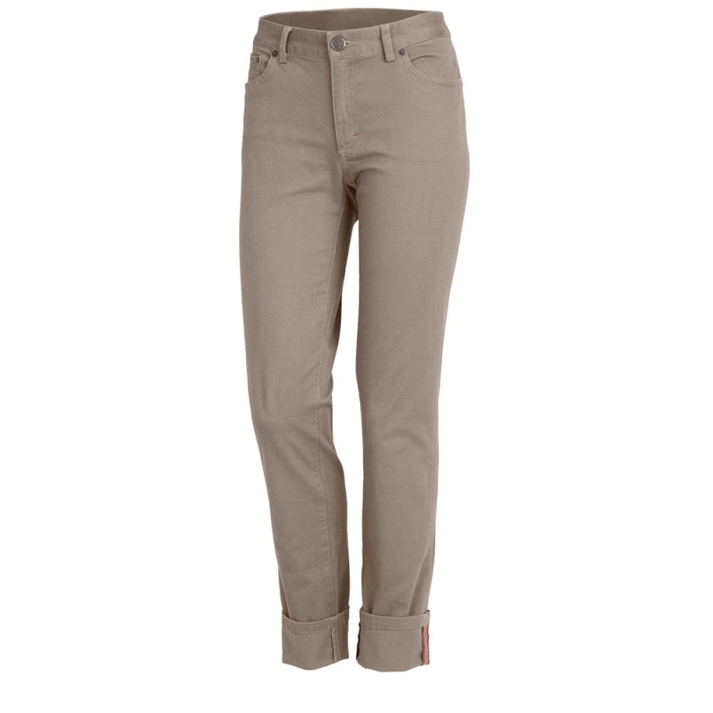EMS Women's Donna Stretch Twill Pants - DRIFTWOOD