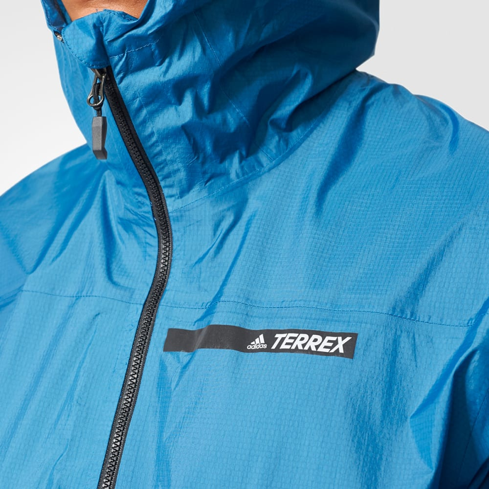 pick up details for lace up in ADIDAS Men's Terrex FastPack 2.5L Jacket