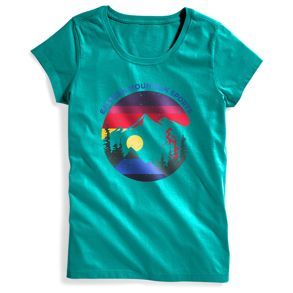 EMS® Women's Heritage Graphic Tee - QUETZAL GREEN