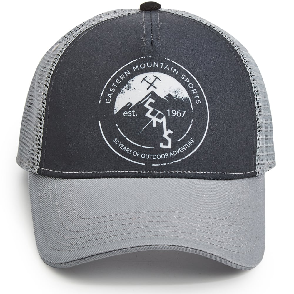 EMS® Men's #1967 Trucker Hat - DARK GREY