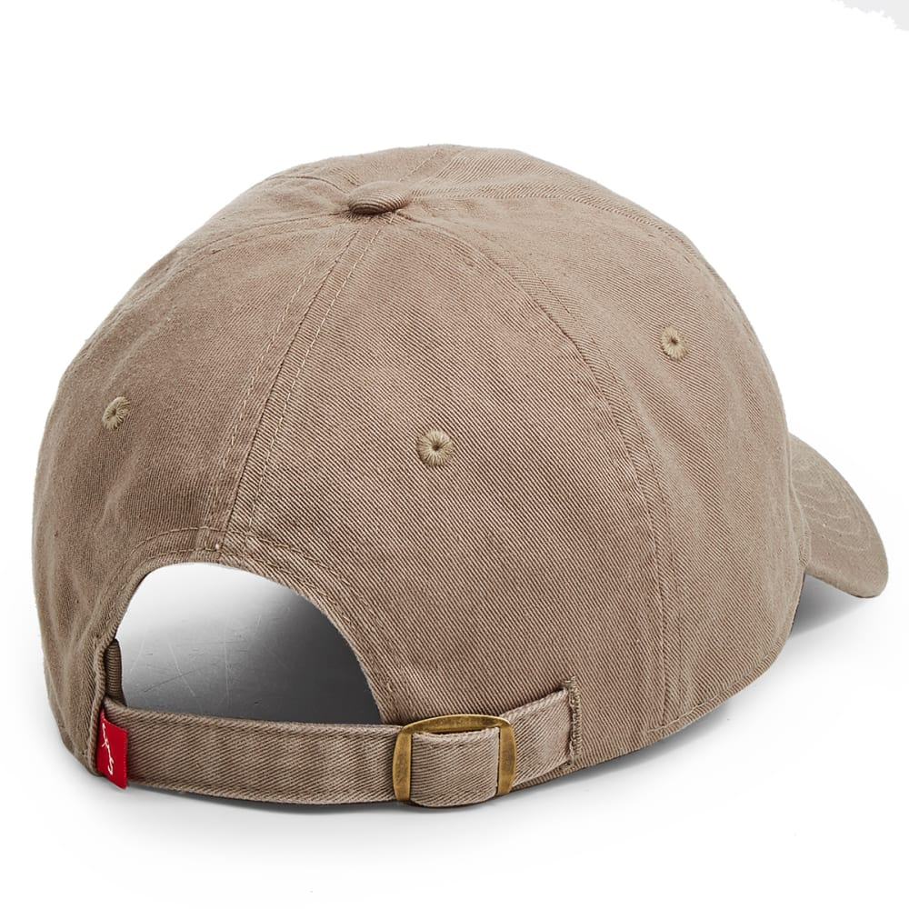 EMS Men's Washed Twill Ice Axe Logo Cap - CHINCHILLA