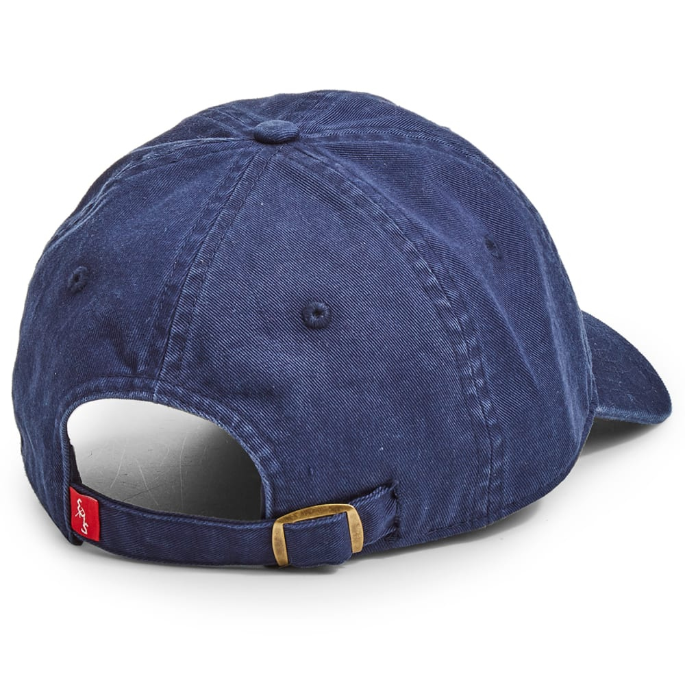 EMS Men's Washed Twill Ice Axe Logo Cap - PEACOAT