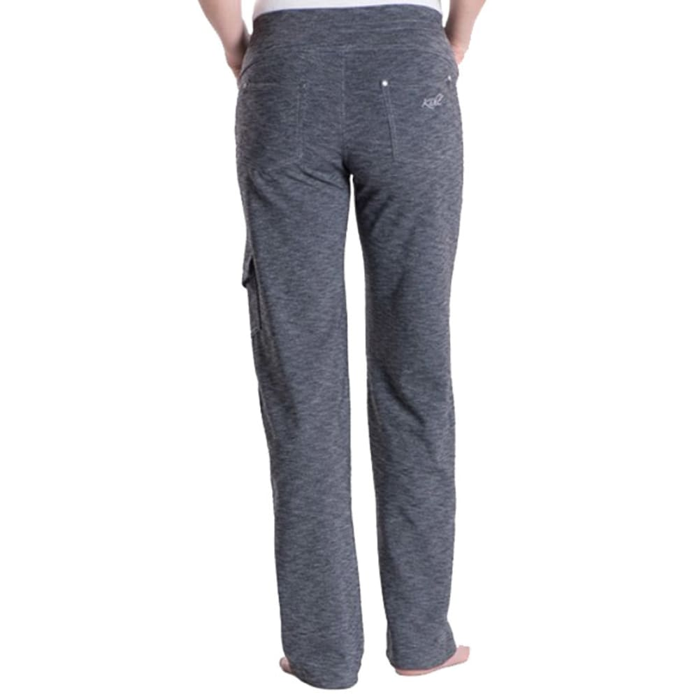 KUHL Women's Mova Pants - DARK HEATHER GREY
