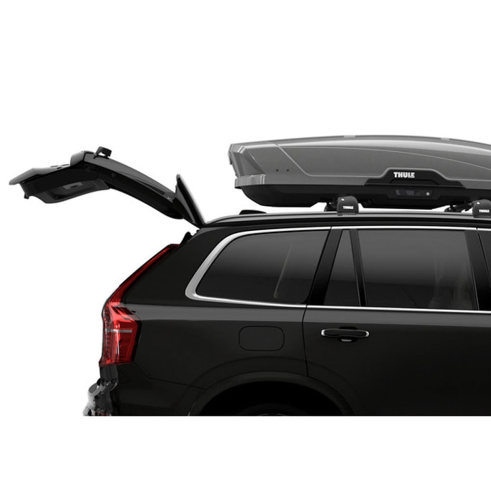 thule motion xt xl cargo box titan silver eastern. Black Bedroom Furniture Sets. Home Design Ideas