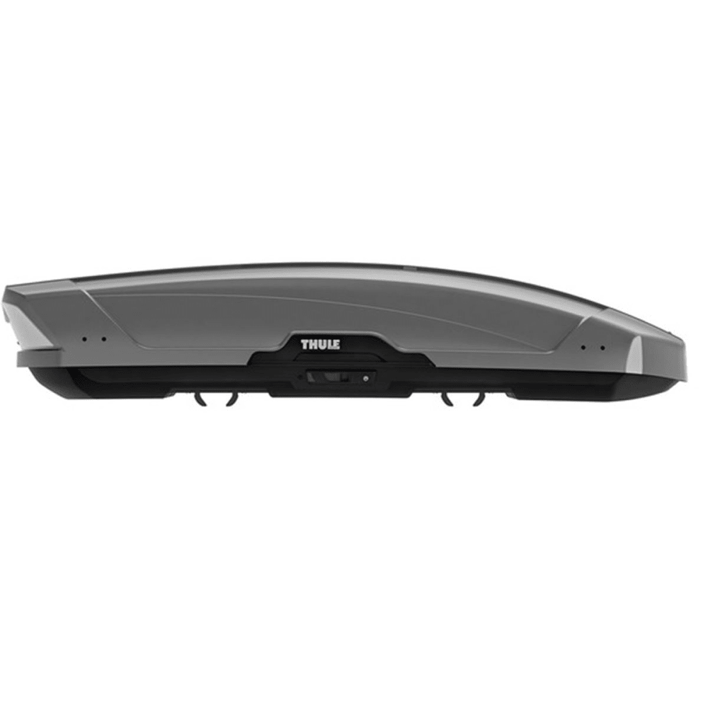 thule motion xt xl cargo box titan silver eastern. Black Bedroom Furniture Sets. Home Design Ideas