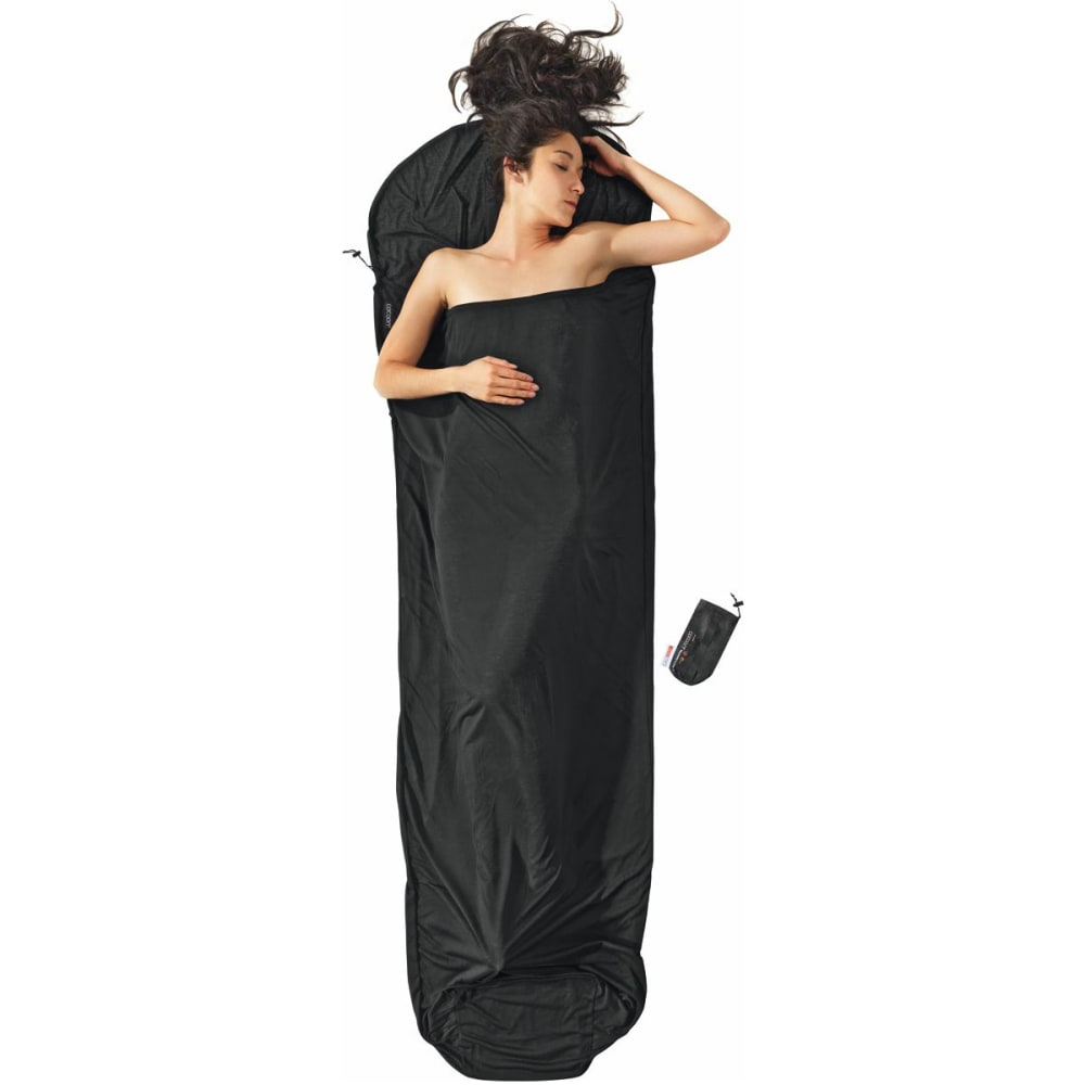 COCOON Thermolite Performer Mummy Liner - VOLCANO BLACK