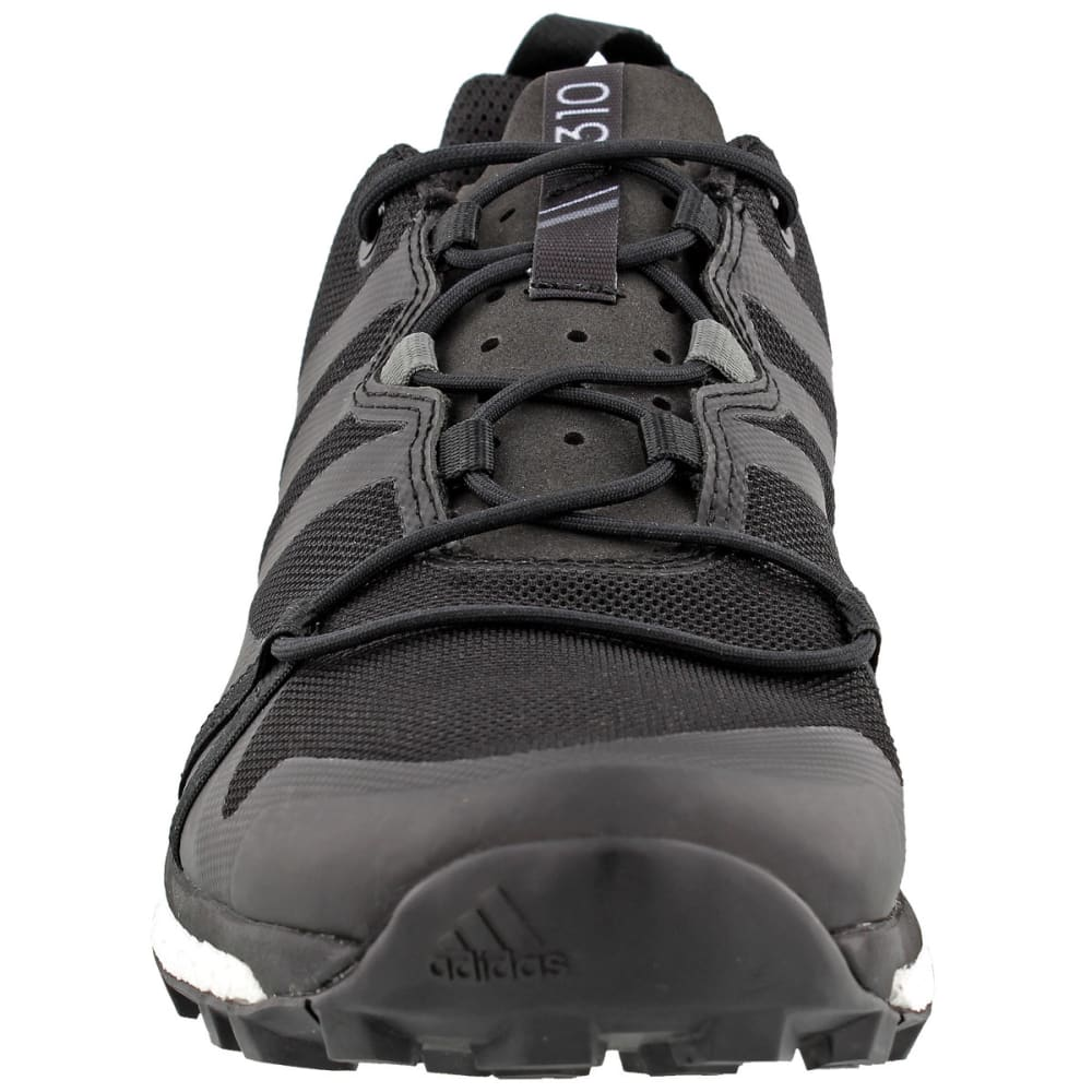 ADIDAS Men's Terrex Agravic Trail Running Shoes, Black - BLACK/BLACK/GREY