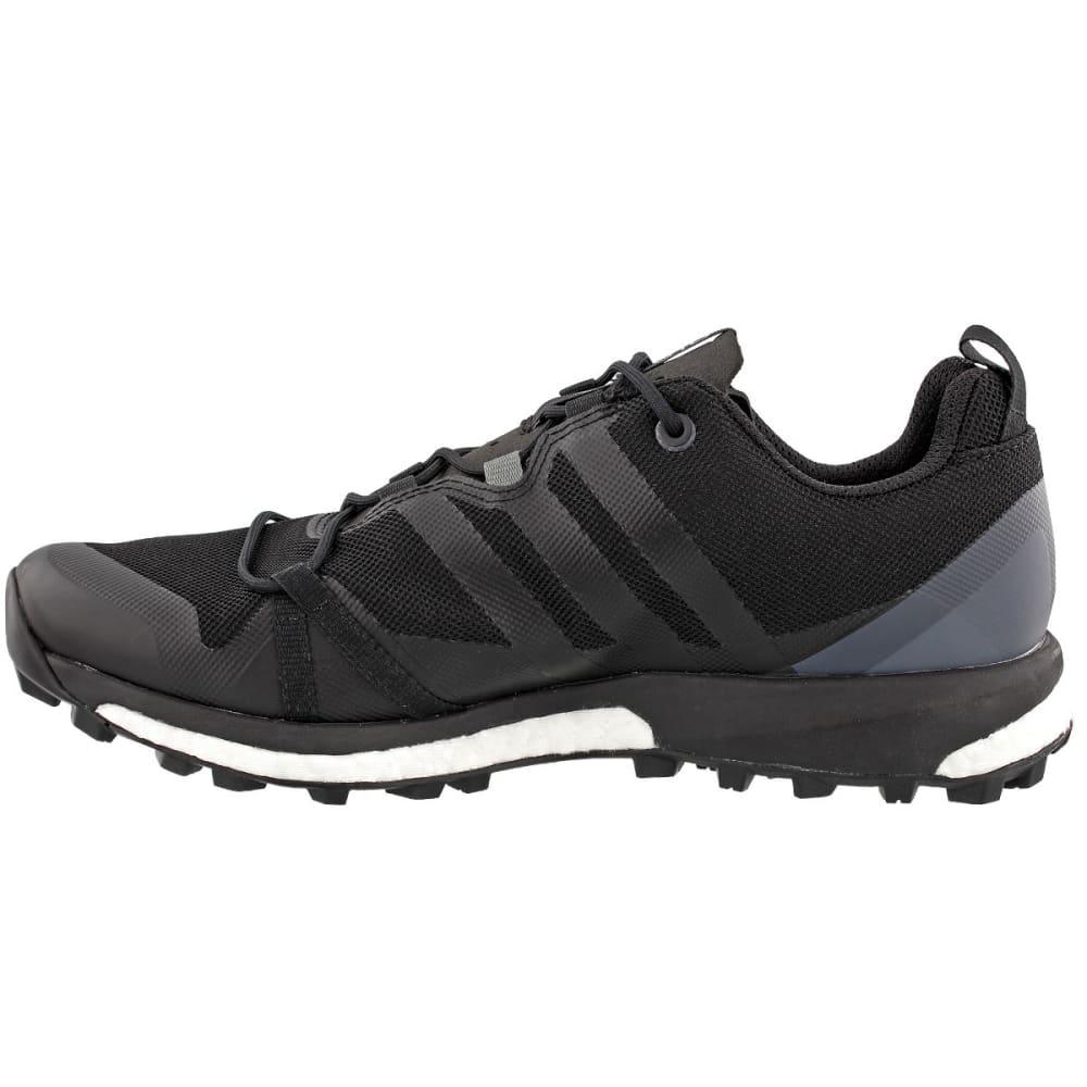 ADIDAS Men's Terrex Agravic Trail Running Shoes, Black - BLACK/CARBON/HI-RES