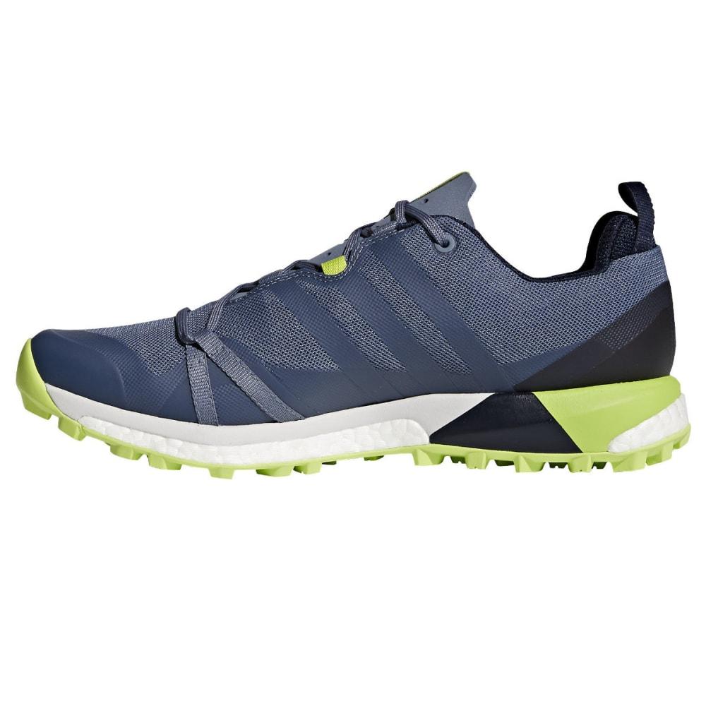 ADIDAS Men's Terrex Agravic Trail Running Shoes, Black - RAW STEEL/RAW STEEL
