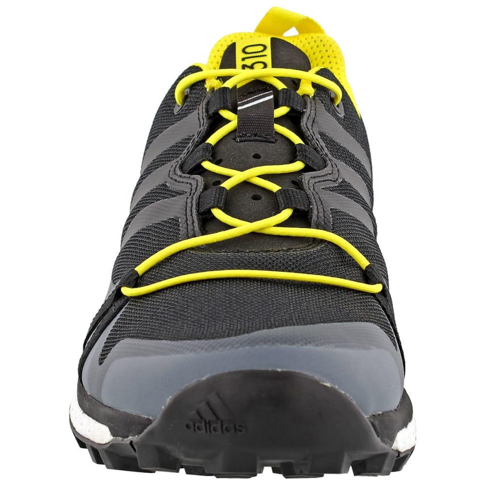 ADIDAS Men's Terrex Agravic Trail Running Shoes, BlackYellow