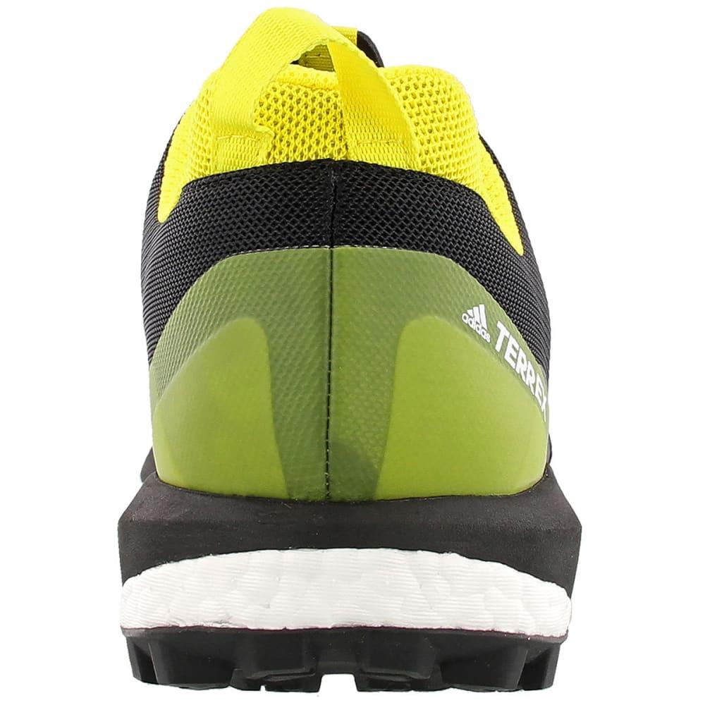 ADIDAS Men's Terrex Agravic Trail Running Shoes, Black/Yellow - GREY/BLACK/YELLOW