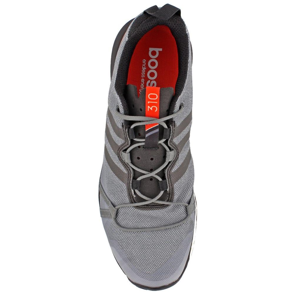 ADIDAS Men's Terrex Agravic Trail Running Shoes, Grey/Orange - GREY/BLACK/ENERGY