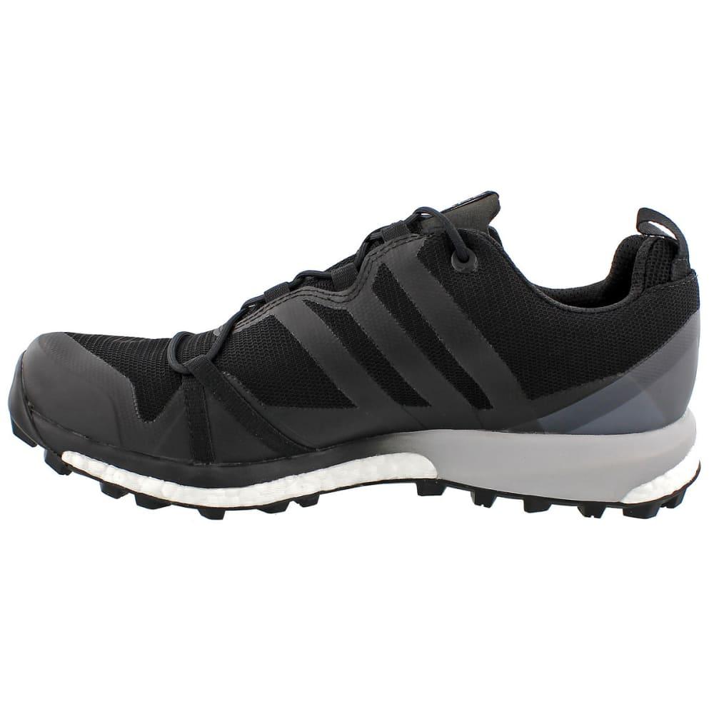 ADIDAS Men's Terrex Agravic GTX Trail Running Shoes, Black - BLACK/BLACK/WHITE