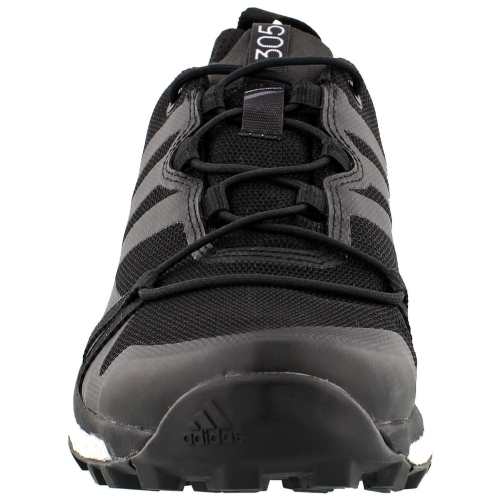 ADIDAS Women's Terrex Agravic GTX Trail Running Shoes, black - BLACK/BLACK/WHITE
