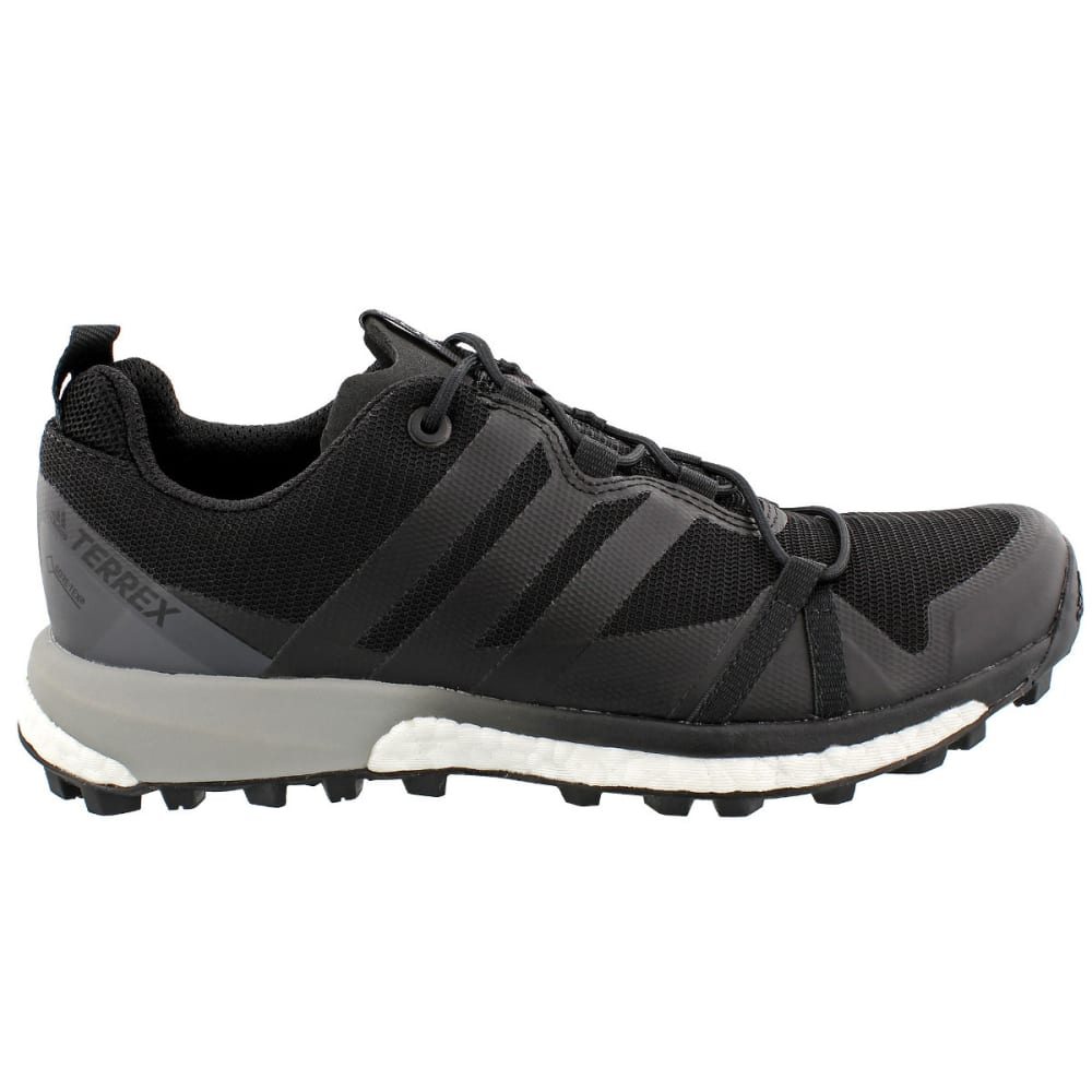 ADIDAS Women's Terrex Agravic GTX Trail Running Shoes, black - BLACK/BLACK/WHITE