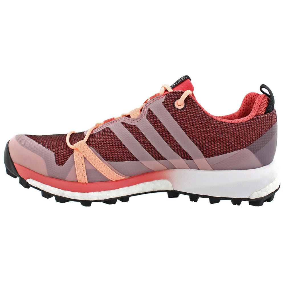 ADIDAS Women's Terrex Agravic GTX Trail Running Shoes, Pink - PINK/CORAL/WHITE