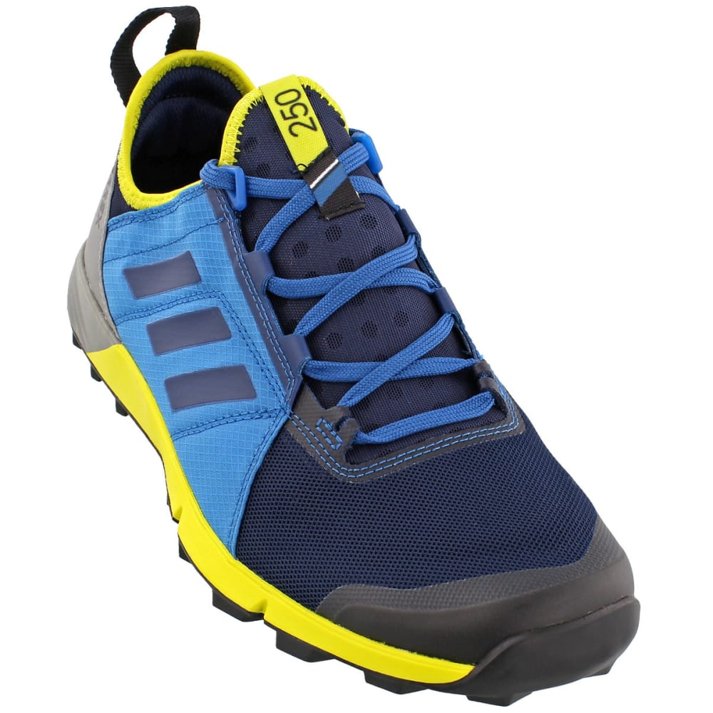 ADIDAS Men's Terrex Agravic Speed Trail Running Shoes, Blue - NAVY/BLUE/BLUE