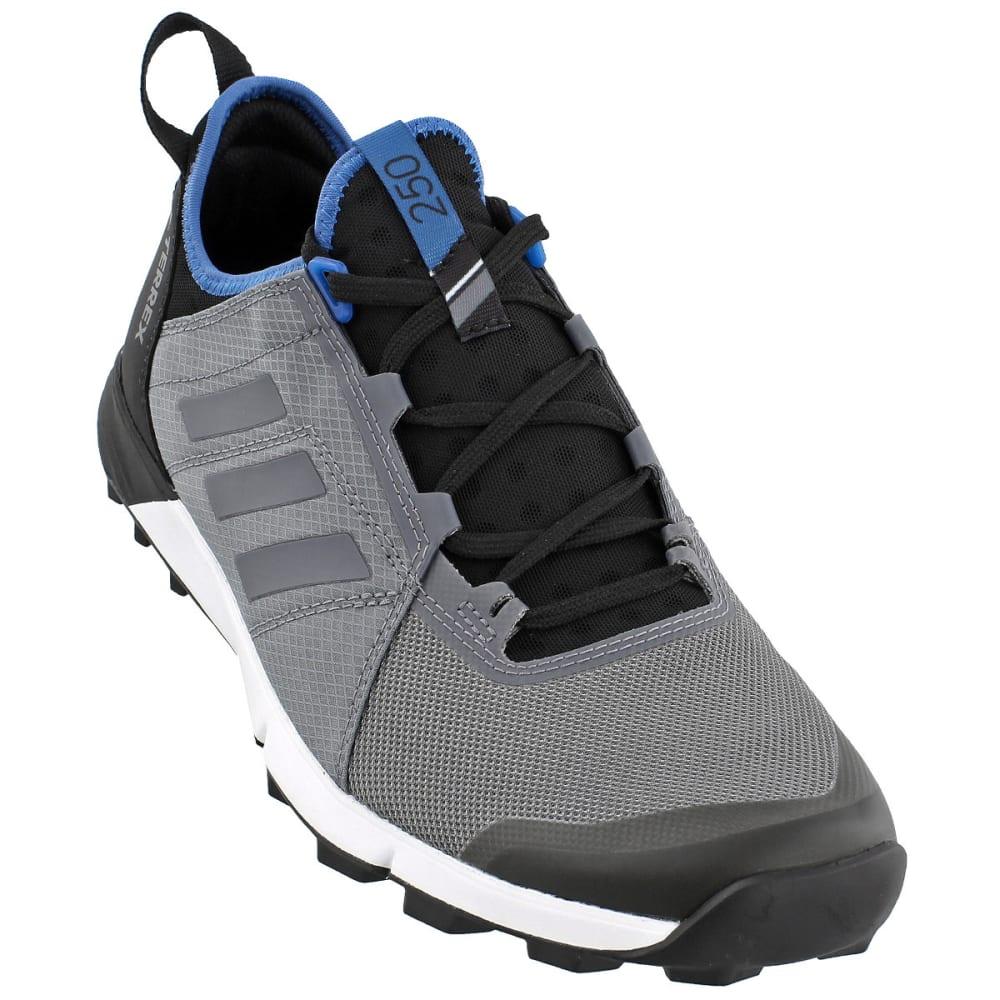 ADIDAS Men's Terrex Agravic Speed Trail Running Shoes, Vista Grey/Core Blue - GREY/GREY/BLUE