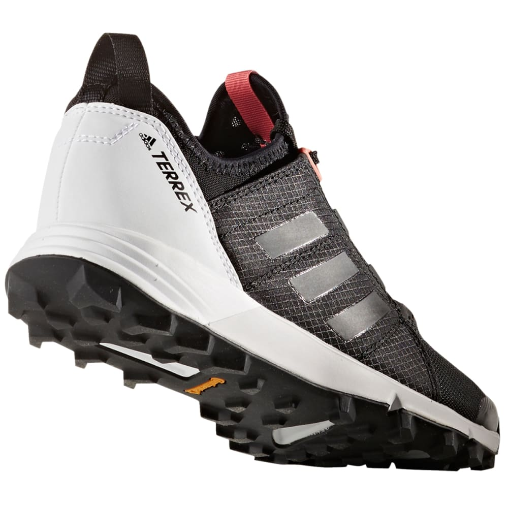 ADIDAS Women's Terrex Agravic Speed Trail Running Shoes, BlackWhite
