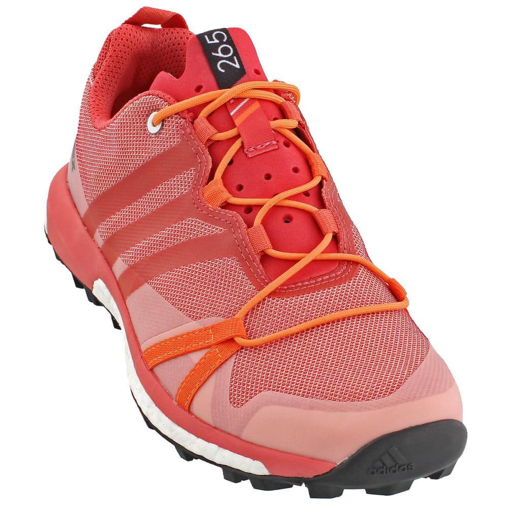 ADIDAS Women's Terrex Agravic Trail Running Shoes, Pink - PINK/PINK/ORANGE