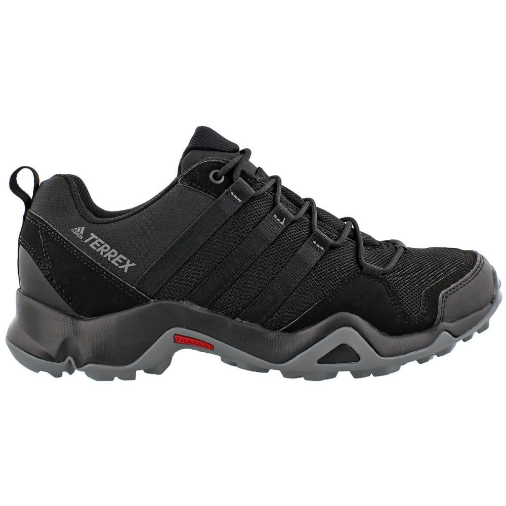 ADIDAS Men's Terrex AX2R Outdoor Shoes, Black - BLACK/BLACK/GREY