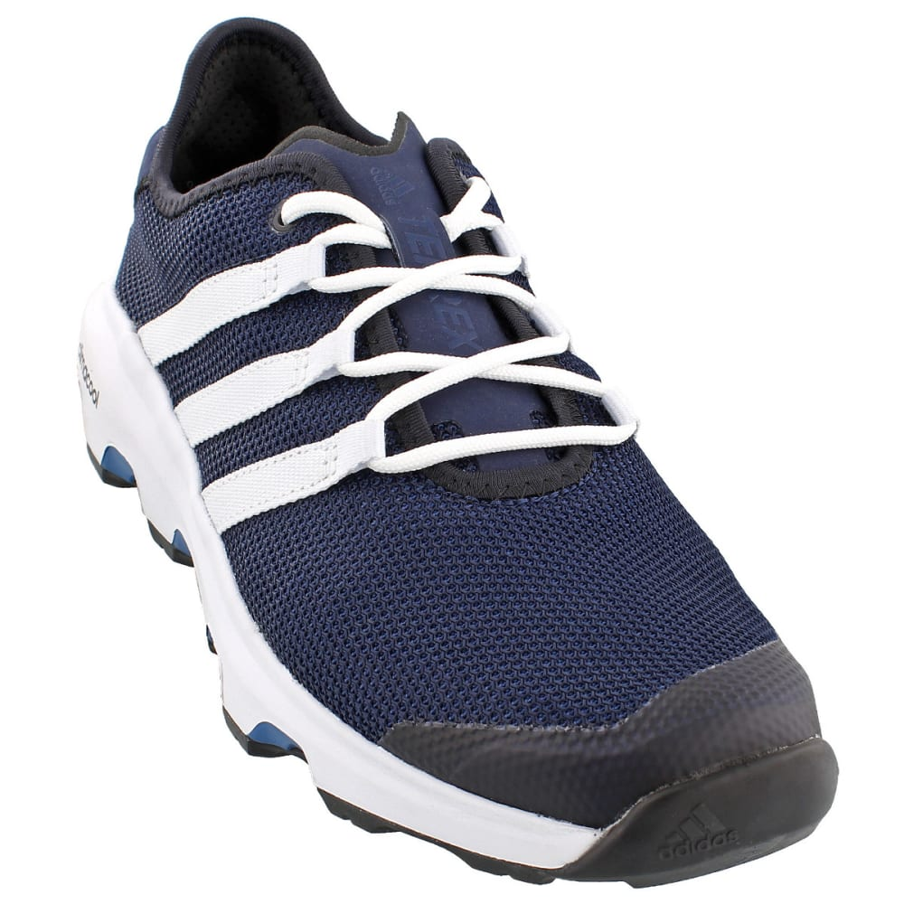 ADIDAS Men's Terrex Climacool Voyager Outdoor Shoes, Blue - NAVY/WHITE/BLUE