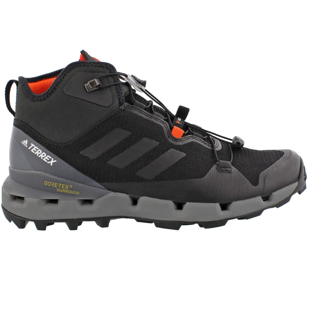 adidas Performance TERREX FAST GTX SURROUND - Trail running shoes - black qQixA48GkZ