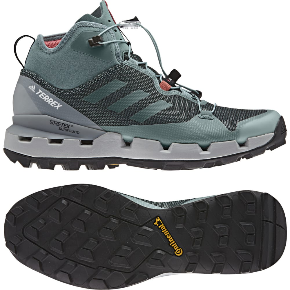 ADIDAS Women's Terrex Fast Mid GTX Surround Hiking, Trail Running Shoes