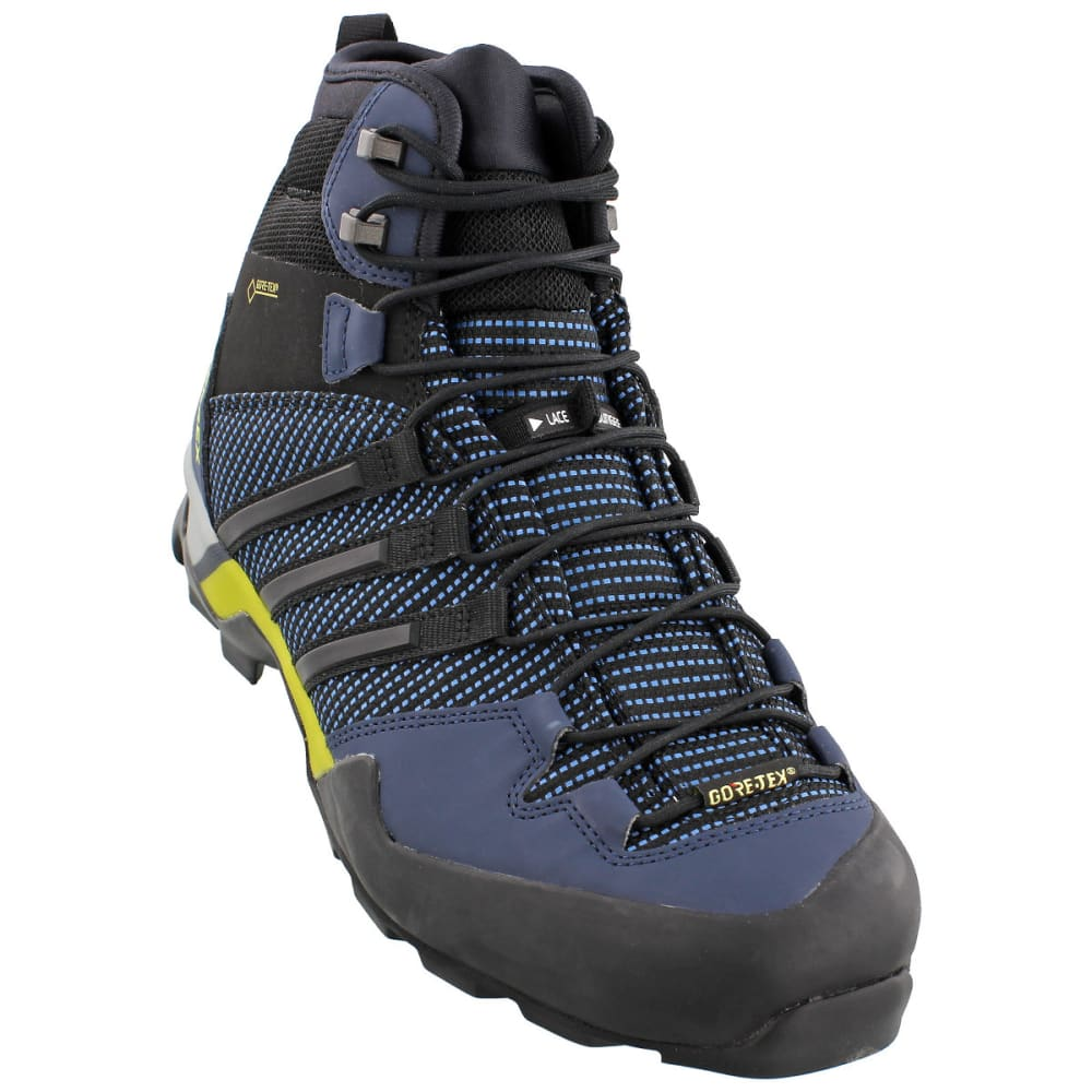 ADIDAS Men's Terrex Scope High GTX Hiking Shoes - BLUE/BLACK/NAVY