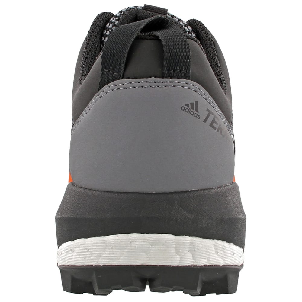 ADIDAS Men's Terrex Skychaser Trail Running Shoes - GREY/BLACK/ENERGY