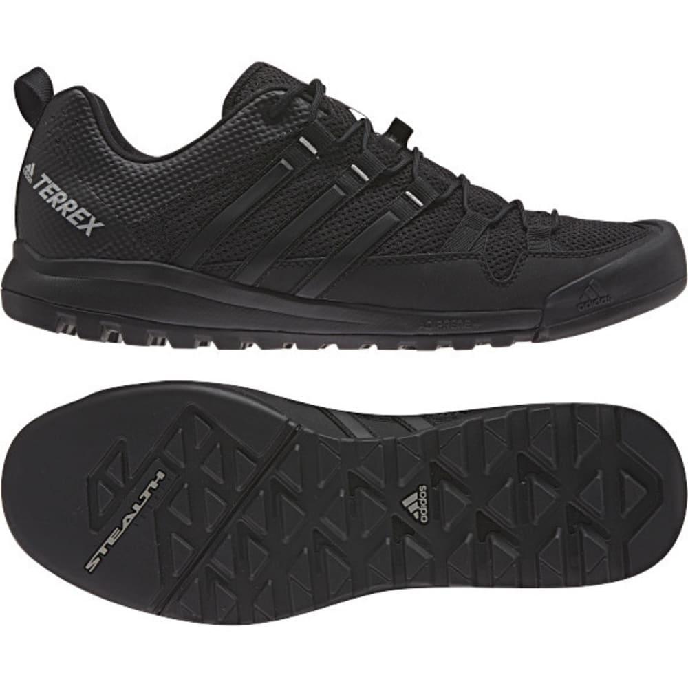 ADIDAS Men's Terrex Solo Hiking/Running Shoes - GREY/BLACK/GREY