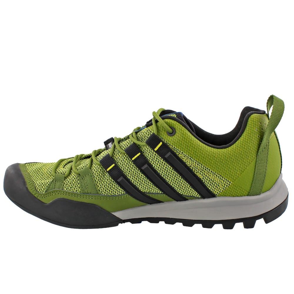 ADIDAS Men's Terrex Solo Hiking/Running Shoes, Green - LIME/BLACK/BLUE