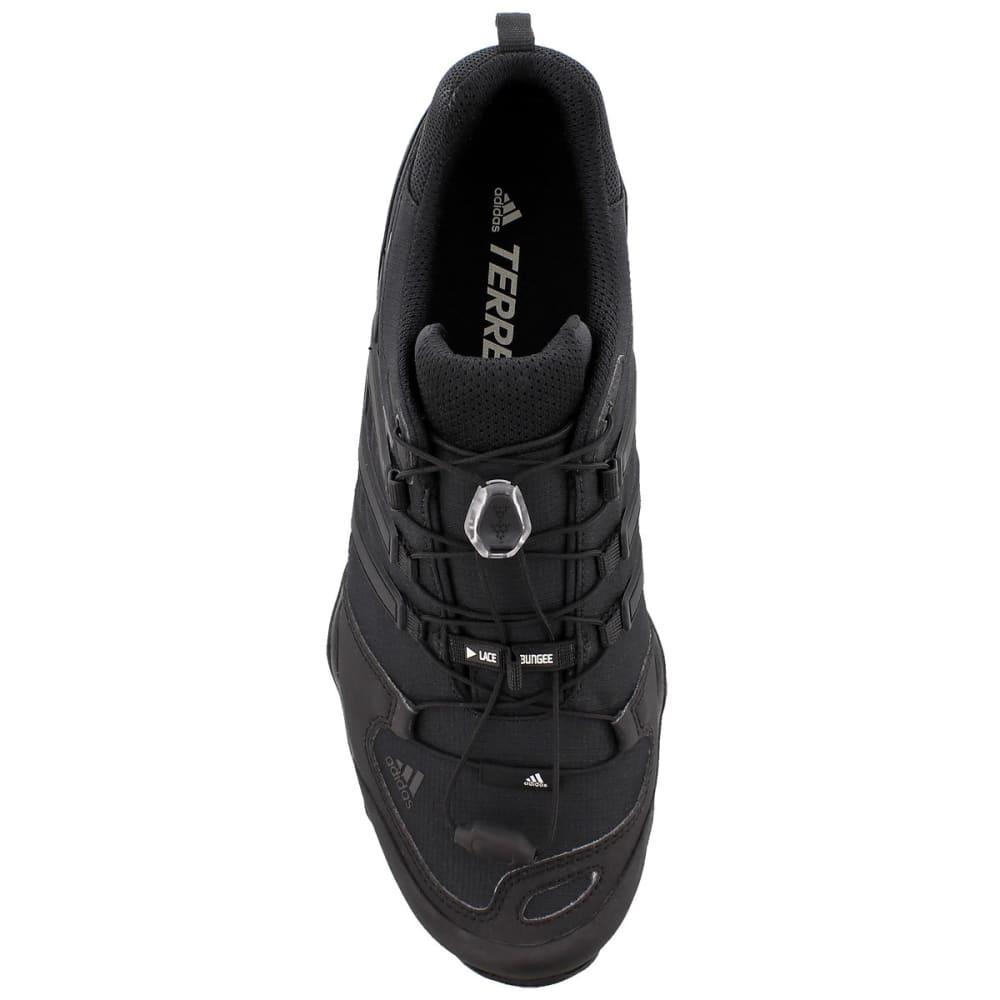 ADIDAS Men's Terrex Swift R Outdoor Shoes - BLACK/BLACK/GREY