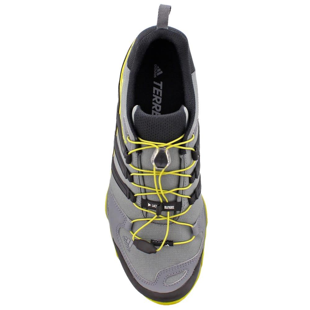 ADIDAS Men's Terrex Swift R Outdoor Shoes, Grey/Green - GREY/BLACK/LIME